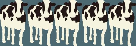 上士幌町の牛の頭数