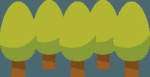 上士幌町の山林が占める割合