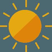 上士幌町の夏の平均気温